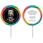A Classic Birthday Milestone Theme Lollipop