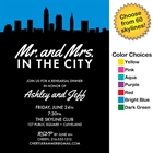 Pick Your Skyline Bridal Invitation