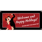 Salsa Dance Party Banner