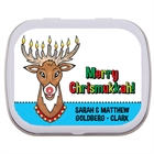 Chrismukkah Theme Mint Tin