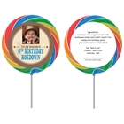 Kids Wanted Poster Theme Lollipop