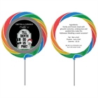Halloween Tombstone Wedding Lollipop