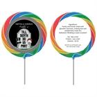 Halloween Tombstone Wedding Lollipop