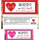 Nursing Appreciation Custom Candy Bar Wrapper