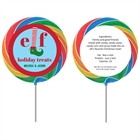 Elfed Up Christmas Party Lollipop