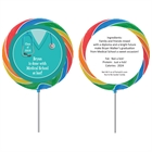 Graduation Scrubs Theme Lollipop