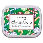Christmas Candy Theme Mint Tin