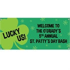 St. Patrick's Day Irish Theme Banner