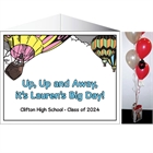 Graduation Up Up and Away Theme Centerpiece
