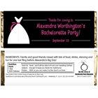 Bride's Party Theme Candy Bar Wrapper