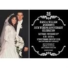 25th Anniversary Vintage Photo Invitation
