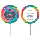 Football Theme Gender Reveal Lollipop
