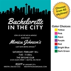 Pick Your Skyline Bachelorette Party Invitation