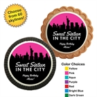 Pick Your Skyline Sweet 16 Custom Cookie