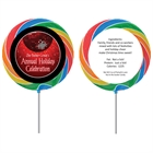 Holiday Party Theme Custom Lollipop