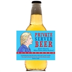 Election 2016 Party Beer Bottle Label