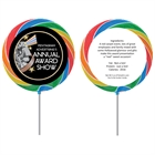 Movie Film Reel Theme Custom Lollipop