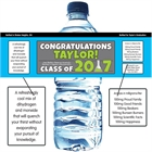 Science Graduation Water Bottle Label
