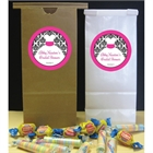 Wedding Dress Theme Favor Bag
