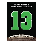 Football Party Table Number