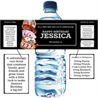 Casino Games Theme Water Bottle Label