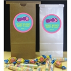 Flip Flop Theme Custom Favor Bag