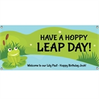 Leap Day Party Theme Banner