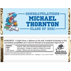 Graduation Sports Theme Candy Bar Wrapper