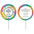 Graduation Luau Hibiscus Theme Lollipop