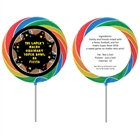 Super Bowl Fiesta Theme Custom Lollipop
