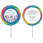 Patriotic Stars Lollipop