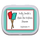 Bridal Shower Kitchen Theme Mint Tin