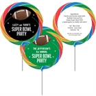 Football Party Theme Custom Lollipop