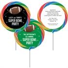 Football Party Theme Custom Lollipop
