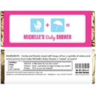 Baby Shower Icons Candy Bar Wrapper