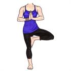 Yoga Female Life-Sized Cutout