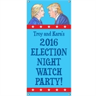 Election 2016 Party Banner, Vertical