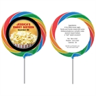 Hollywood Popcorn Theme Custom Lollipop