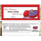 Engagement Ring Theme Candy Bar Wrapper