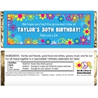 Hippie Retro Theme Candy Bar Wrapper
