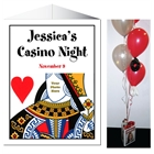 Casino Theme Queen of Hearts Centerpiece