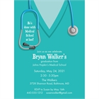 Graduation Scrubs Invitation