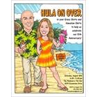 Beach Couple Invitation, Add Your Face