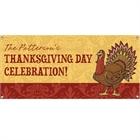 Thanksgiving Turkey Theme Banner