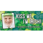St. Patrick's Day Green Shamrocks Theme Banner