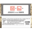 Bridal Icons Candy Bar Wrapper