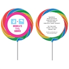 Baby Shower Icons Lollipop