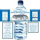 Cruise Theme Water Bottle Label