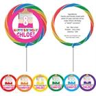 Kids Birthday Paint Party Theme Lollipop