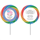 Jungle Theme Gender Reveal Lollipop